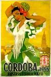 Cordoba, Spain, Vintage Poster
