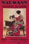 Sewing Machine, Vintage Poster