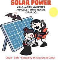 Vampires Hate Solar Power (Full Color)