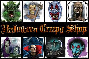 Halloween Shop: T-shirts & Gear