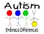 Autism, Embrace Differences