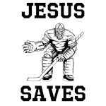 Jesus Saves - Hockey