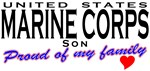 US Marine Corps Proud Son T-shirts & Gifts