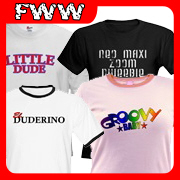 Wicked Retro & Cool T-shirt, Clothing Gift Designs