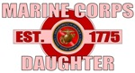 Marine Corps Daughter 1775 T-shirts & Gifts