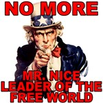 Angry Uncle Sam Leader of the Free World Design