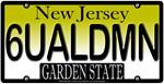 Sexual Demon New Jersey Vanity License Plate