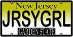 Jersey Girl New Jersey Vanity License Plate Design