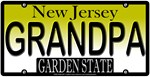 Grandfather New Jersey Vanity License Plate Design