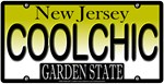 Cool Chick New Jersey Vanity License Plate Design