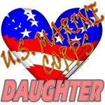 U.S. Marine Corps Daughter T-shirts & Gifts