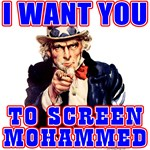I Want You To Screen Mohammed Not Grandma! T-shirt