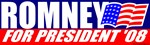 Romney for President '08 T-shirts & Gifts