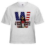 President George W. Bush 4 MORE YEARS T-shirts!