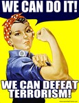 We Can Do It! (Defeat Terroism) T-shirts & Gifts