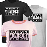 United States Army Family Advisory T-shirts & Gift