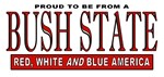 Proud Resident of Bush State T-shirts and Apparel