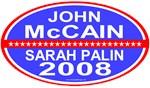 John McCain / Sarah Palin 2008 T-shirts & Gifts