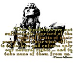 Thomas Jefferson Limits On Power Quote T-shirts &