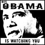 Big Obama Is Watching T-shirts & Gifts
