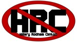 Anti President Hillary Clinton 2008 HRC t-shirts