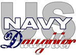 US Navy Daughter Stars & Stripes