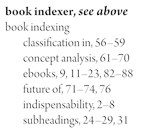 Book indexer, see above