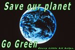 Save our Planet-Go Green