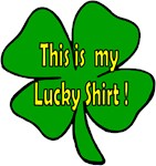 This is my Lucky Shirt!