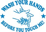 Wash Your Hands! Blue