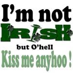 I'm not Irish