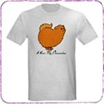 Happy Orange Pomeranian T-Shirts