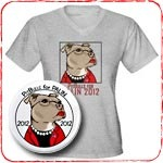 PitBulls for Palin 2012 T-Shirts