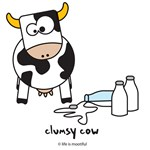 clumsy cow