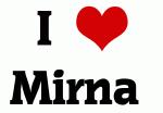 I Love Mirna