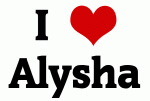 I Love Alysha