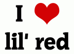 I Love lil' red