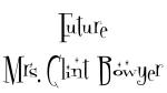 Future Mrs. Clint Bowyer