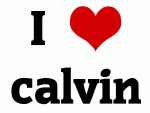 I Love calvin