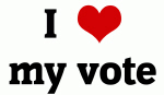 I Love my vote
