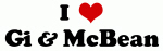 I Love Gi & McBean