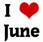I Love June