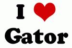 I Love Gator