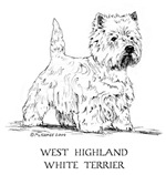 Westie items with this design