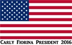 Carly Fiorina American Flag