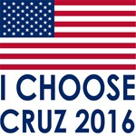 I Choose Cruz 2016 Flag