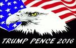 Trump Pence Eagle