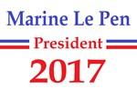 Marine Le Pen 2017 popular