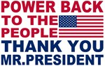 Power back to the people!