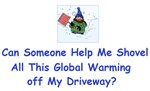 Shovel global Warming